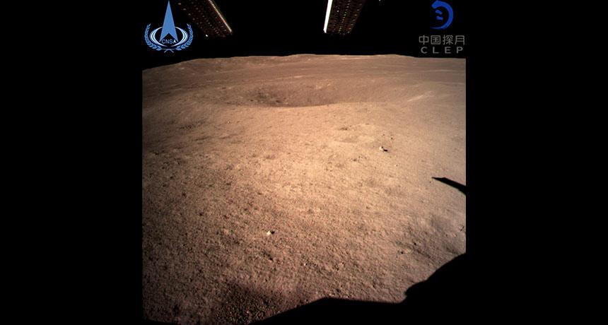 "Pendaratan Pesawat Antariksa Pertama China ""Chang'e-4"" di Sisi Terjauh Bulan"