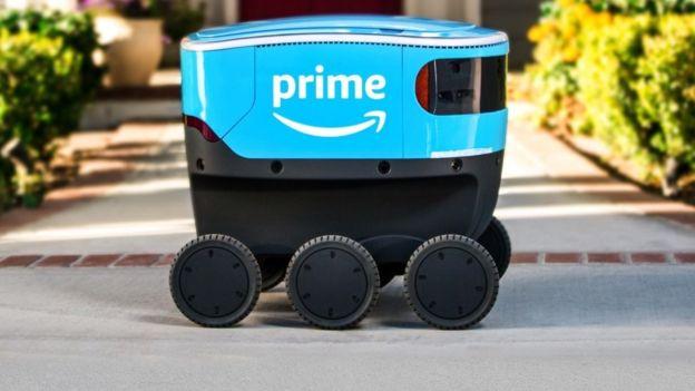 Amazon Akan Kirimkan Paket Oleh Robot!