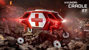 Elevate, Mobil Berkaki Hyundai untuk Evakuasi Bencana
