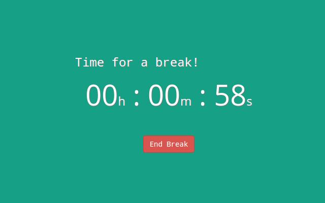 Break Timer, Ekstensi Google Chrome Bantu Kamu Atur Waktu Istirahat