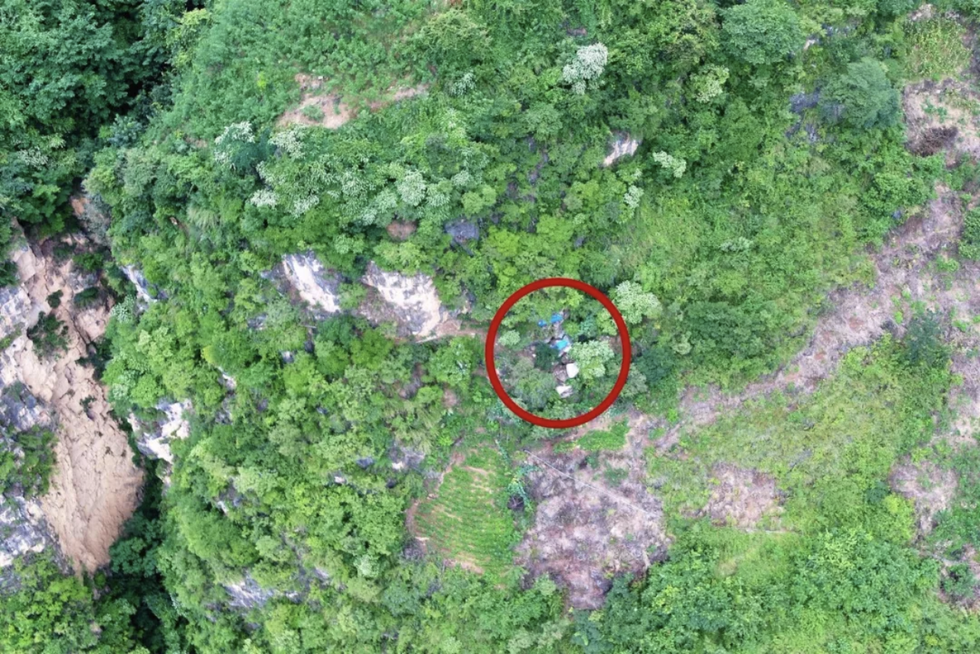 Buronan Tertangkap Berkat Drone