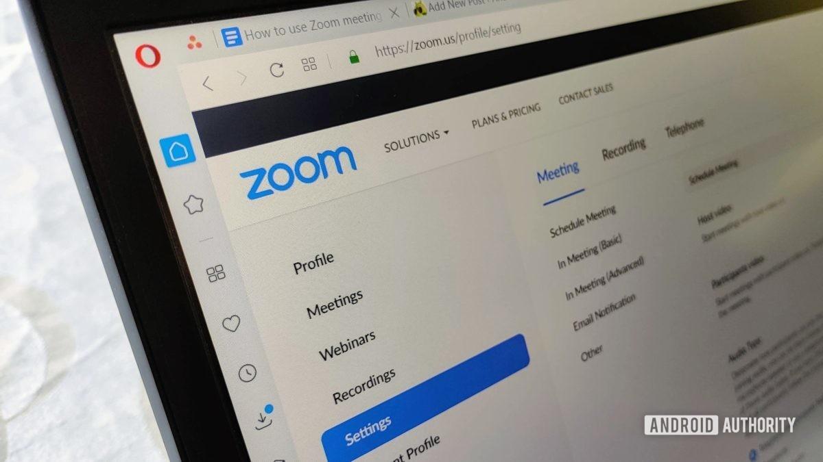 Cara Membuat Link Zoom Meeting Di Laptop Gampang Banget Teknologi Id
