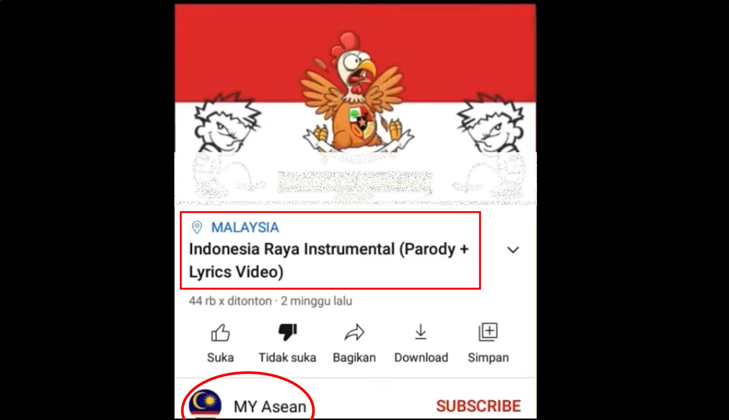Viral Video Pelecehan Lagu Indonesia Raya